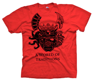 2010 t-shirt design by Shane Warren A World of Traditions